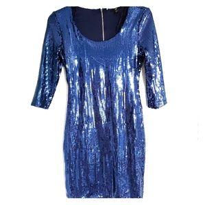 Sequin short party dress